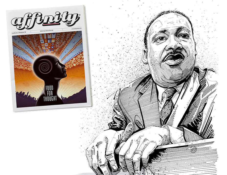 Affinity No1 - Martin Luther King.